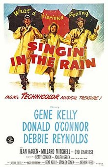singing in the rain poster