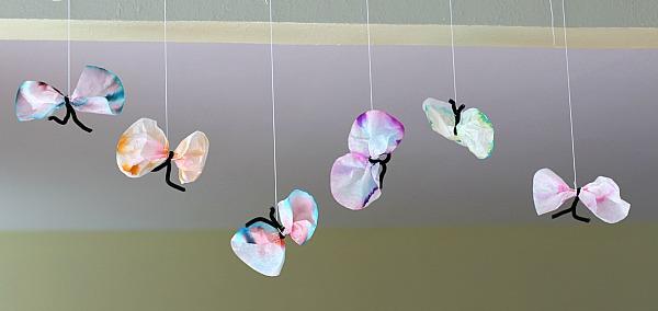 coffe filter butterfly