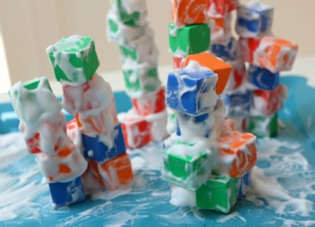 Foam Block - Shaving Cream Tower