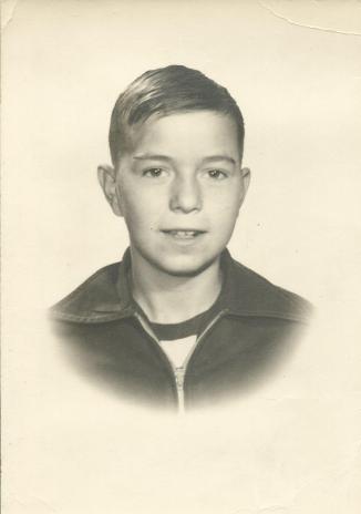 Billy Gene Hoover, Sr, at 12.
