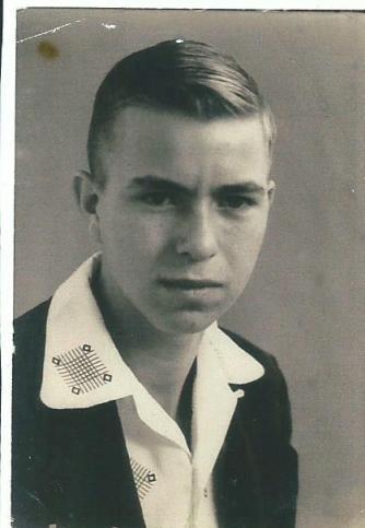 Billy Gene Hoover, Sr, at 15.