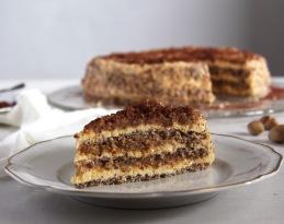 egyptian hazelnut cake