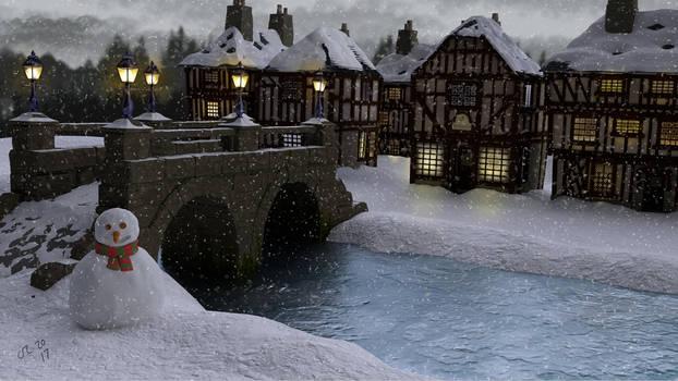 Christmas scene 02
